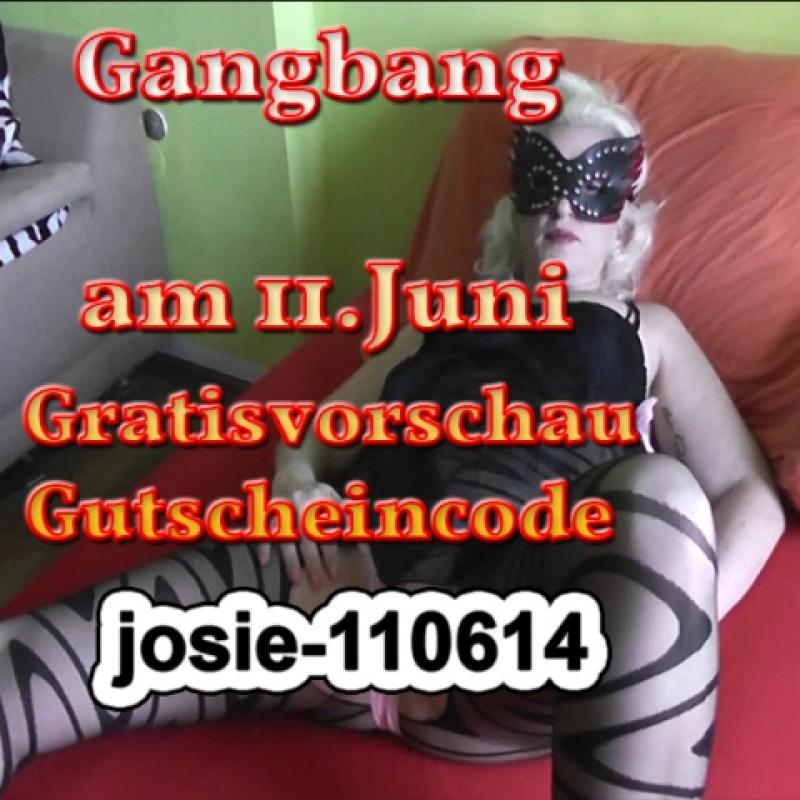 Gratistrailer zur Gangbang am 11.Juni 2014